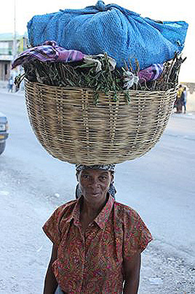 HaitiwomancarryingLoad1B